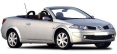 Renault Megane Cabrio Car available for hire in Cyprus