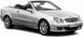 Delux Mercedes cabrio available for hire in Cyprus