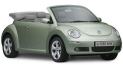 VW Beatle Cabrio available for hire in Cyprus